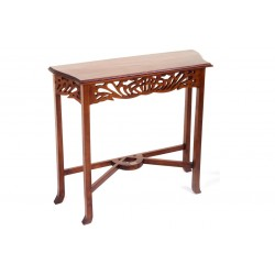 Mahogany Village Fretted Table