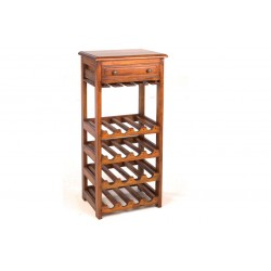 Mahogany Village Small Wine Rack