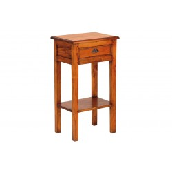Mahogany Village 1 Drawer Telephone Table