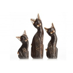 Set of 3 Small Cats