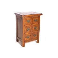 East Indies 6 Drawer Chest of Drawers