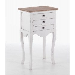 Laura 3 Drawer Table