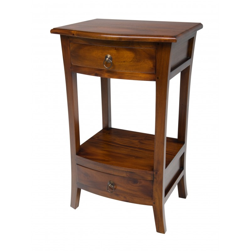new concept e1458 3d290 Pacific 2 Drawer Telephone Table