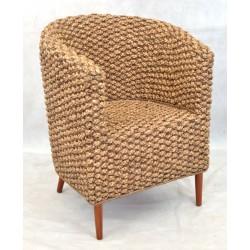 Water Hyacinth Tub Chair