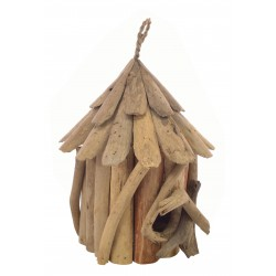 Driftwood Small Bird House made from reclaimed wood