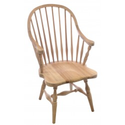 Bleached Mahogany Windsor Chair
