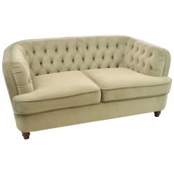 Slate Grey Velvet Sofa
