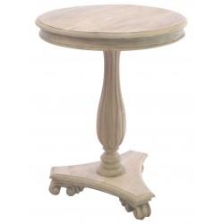 Bleached Mahogany Wine Table