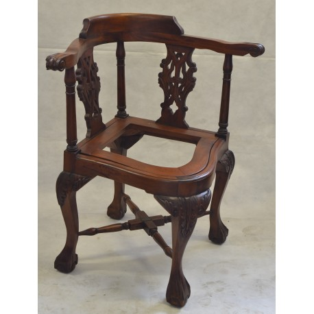 Victorian Corner Chair without Cream Pad