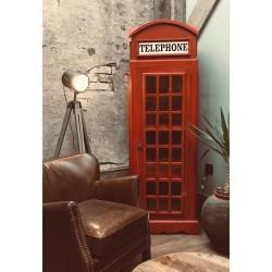 Vintage Red Phone Box
