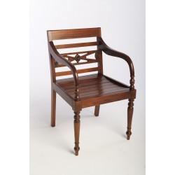 Mahogany Raffles Chair