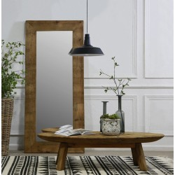 Reclaimed Pine Rectangle Mirror