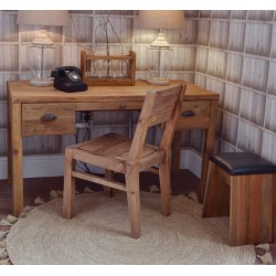 Fair Isle Reclaimed Pine Desk - out of stock